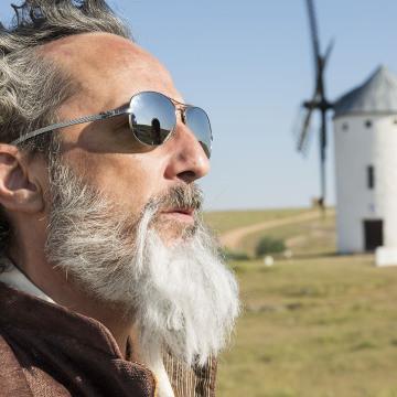 """Javi Coll es Quijote en el corto """"Sancho"""""""